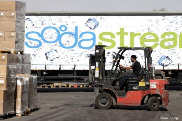 PepsiCo to buy drink-machine maker SodaStream for US$3.2 bil