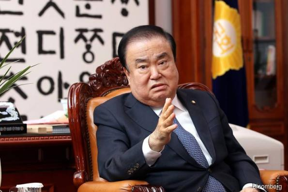 South Korean lawmaker won't apologize for Japan emperor remarks
