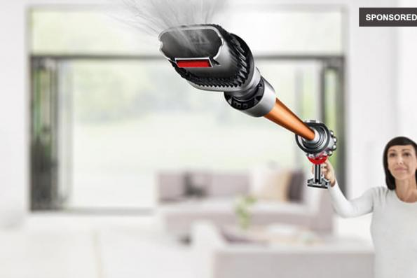 Dyson Cyclone V10 for a cleaner home