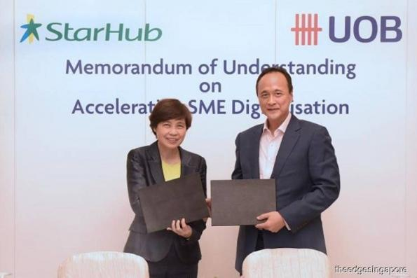 UOB and StarHub ink MoU to help SMEs accelerate their digitisation efforts