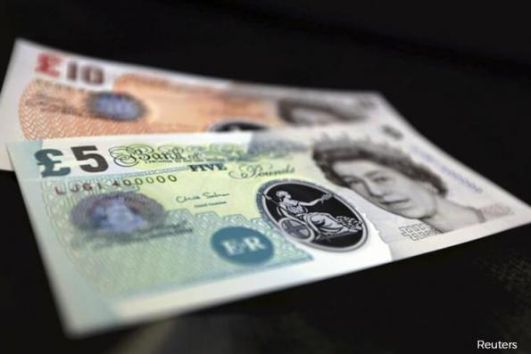 Sterling sinks to 8-week low vs US dollar