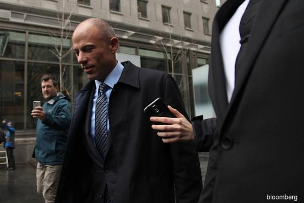 Stormy Daniels's lawyer defends release of Cohen Bank data