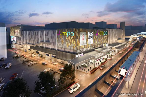 Sungei Wang Plaza to get 'glistening gold' look