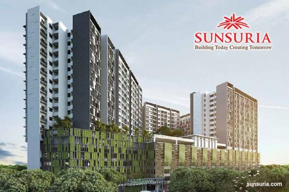 Sunsuria City debuts first landed homes