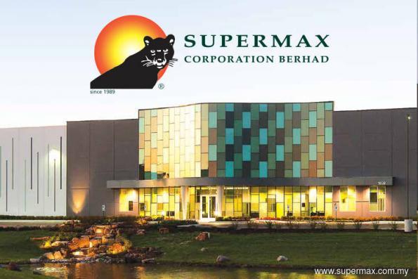 Supermax 1Q net profit up 43%