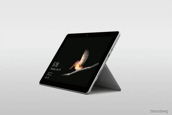 Microsoft debuts US$399 Surface Go tablet, taking on cheaper iPads