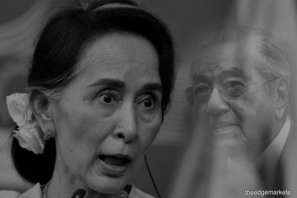 'Defending the indefensible': Dr Mahathir slams Suu Kyi over Rohingya crisis