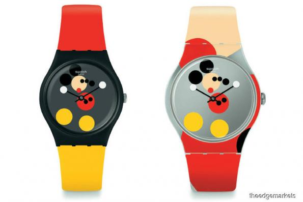 Watches: Mickey's 90th birthday with Damien Hirst watch