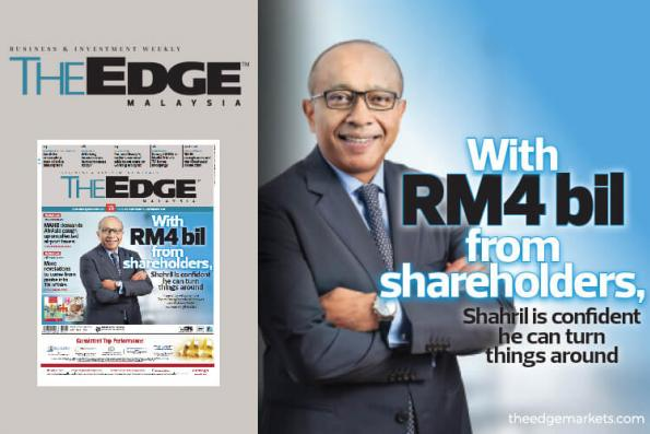 With RM4 bil from shareholders, can Shahril turn things around at Sapura Energy?