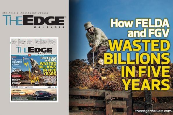 FELDA和FGV如何在5年内耗数十亿