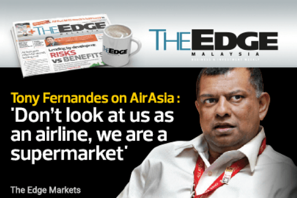 Tony Fernandes on AirAsia : 'Don't look at us as an airline, we are a supermarket'