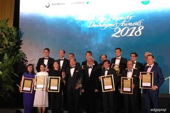 SP Setia clinches top spot again at The Edge Malaysia Top Property Developers Awards 2018