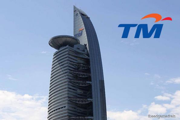 TM active, falls 1.95% on possible exclusion from FBM KLCI
