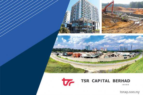 TSR Capital gains 1.39% in thin trade after unit lands road project