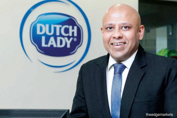 Dutch Lady's new boss wants us to drink more milk