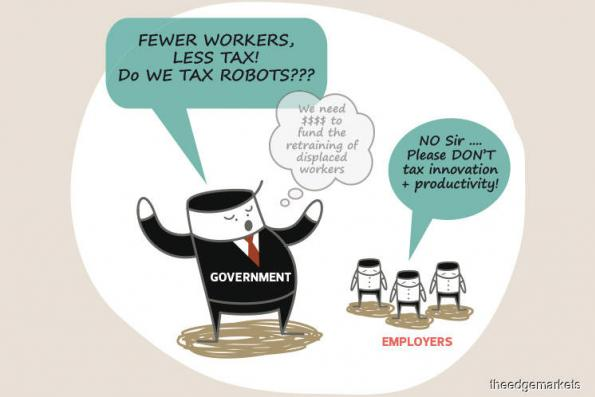 Cover Story: The State of the Nation -  Should robot taxes be the way to fund upskilling of workers?