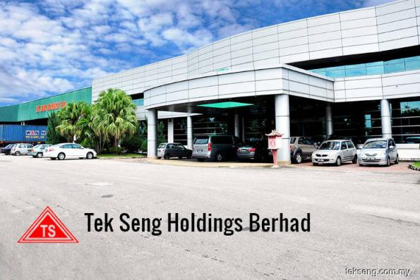 Tek Seng shares fall to 2-year low after group slips into the red