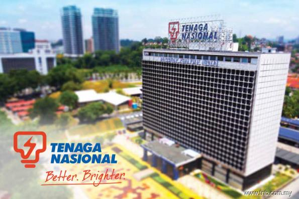 TNB among top 3 Bursa gainers as shares hit 2-year intraday high of RM15.48