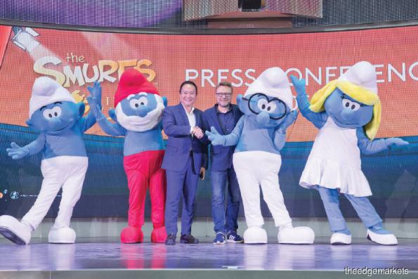 Entertainment: 'The Smurfs Live On Stage' to perform at Genting Highlands