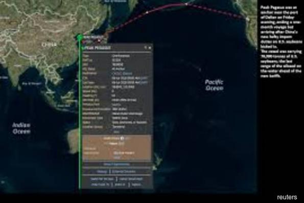 Go ship, Go! China roots for last U.S. soybean cargo to land before tariffs kick in