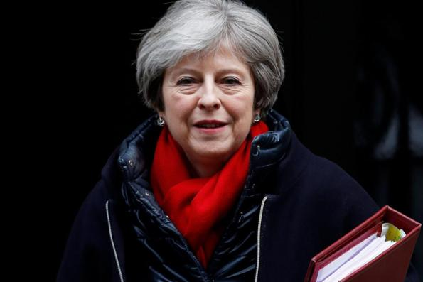 UK PM May says she will lead Brexit talks from now on