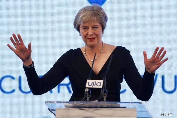 UK PM May tells rebels: It's my Brexit deal or no deal