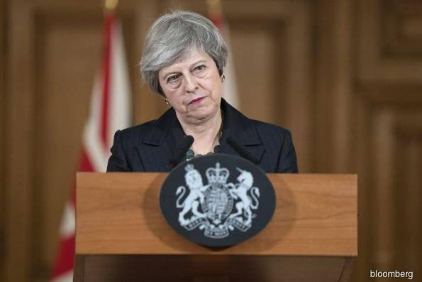 Replacing Me Won't Change Parliament Math, May Tells U.K. Tories