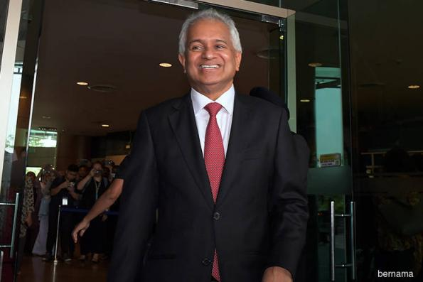 A-G defends Sitpah's appointment to claim RM1b Equanimity on 1MDB's behalf