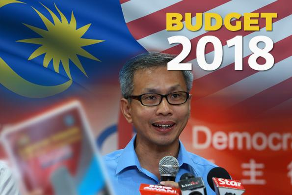 Budget 2018 projects increasing reliance on income taxes — Tony Pua