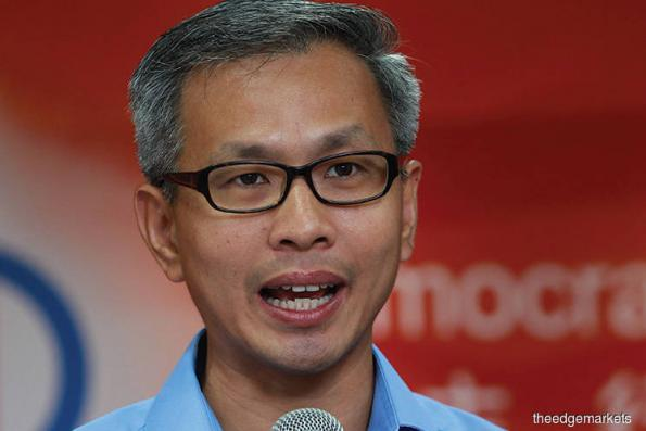 Tony Pua: Pakatan Harapan has no intention to hide true cost of LRT3