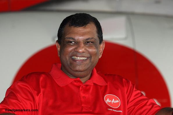 Tony Fernandes: Airline biz volatility 'taken out' as oil stabilises