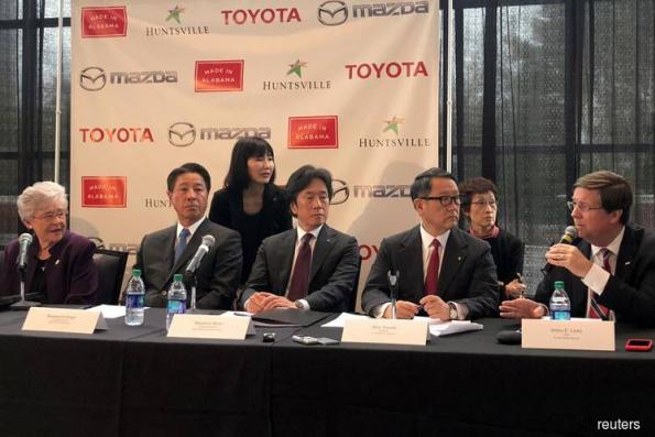 Toyota, Mazda announce US$1.6 bil plant for Huntsville, Alabama