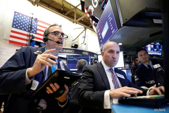 Industrials lead Dow to record high; tech boosts S&P, Nasdaq