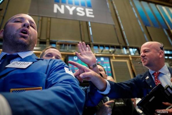 Wall Street stumbles as bond yield climb continues