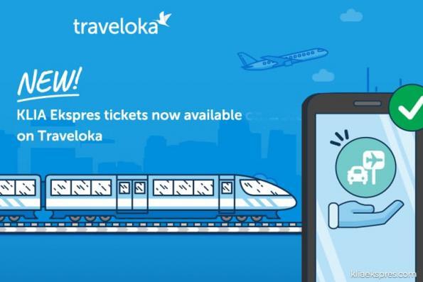 KLIA Ekspres tickets now available on Traveloka app too