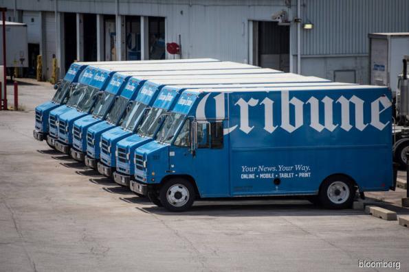 Nexstar is said to be buying Tribune Media for US$4.1 bil