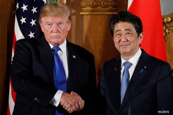 The elephant in the Trump-Abe room