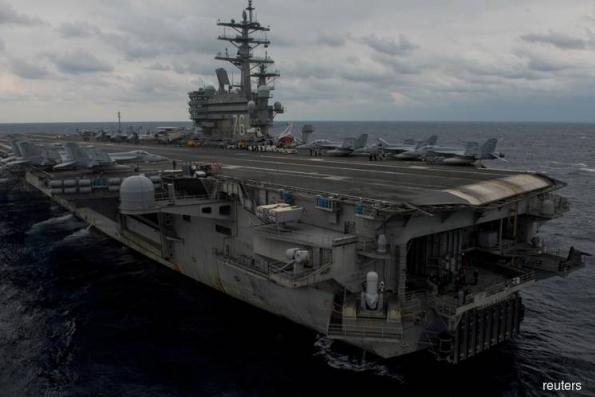 U.S. Navy plane crashes in Philippine Sea; three missing