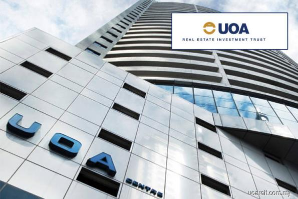 UOA REIT 4Q rental income falls 40% to RM8.98m