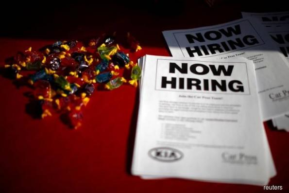US jobless claims rise from 45-year low; labor market tightening
