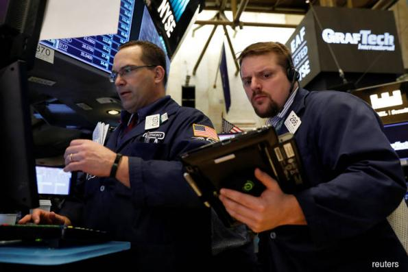 Stocks pull back, dollar gains before Fed results