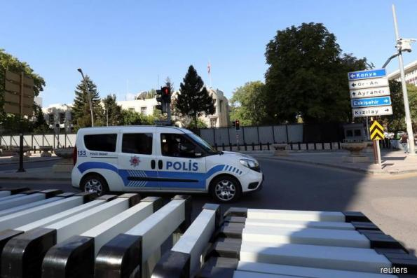 Shots fired at U.S. embassy in Turkish capital, no casualties