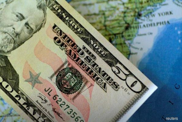 Dollar dips as robust US GDP data fail to impress