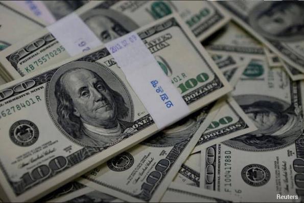 US dollar falls on perceived ECB path, US political roadblocks