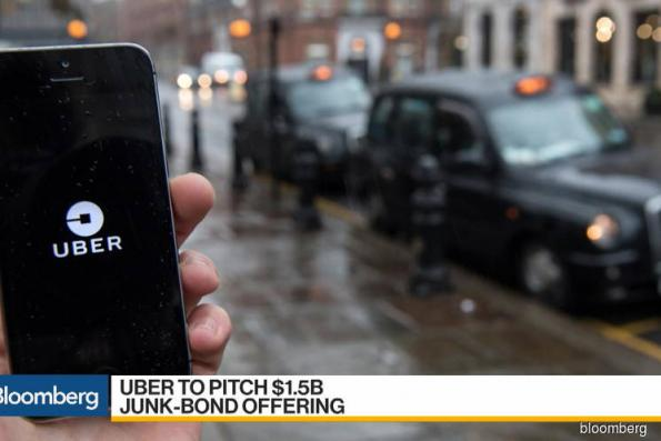 Uber is said to be pitching US$1.5 bil junk-bond offering
