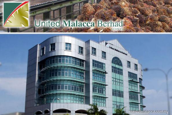 United Malacca falls 2.28% on higher 1Q net loss