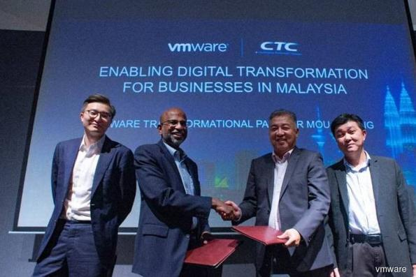CTC Global inks partnership with VMware to drive cloud adoption in M'sia