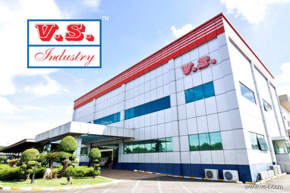 VS Industry advances to highest in five weeks