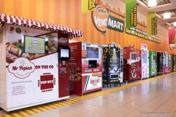 Giant launches new vending machine concept at Tampines & IMM Jurong