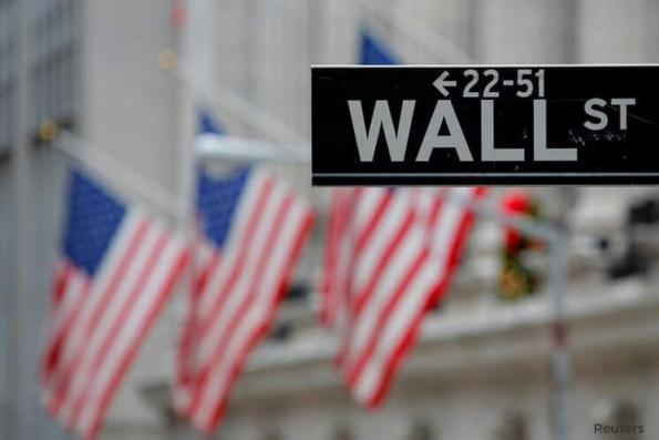 Wall St slips as banks fall after results, AT&T sinks